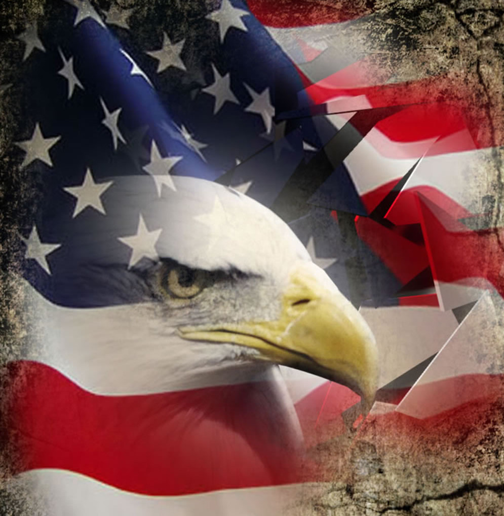 american flag background with eagle e1403061439579